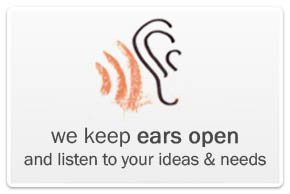 we keep ears open