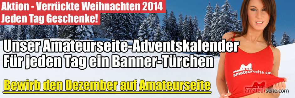 Amateurseite-Adventskalender 2014